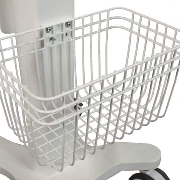 Zippy rear basket