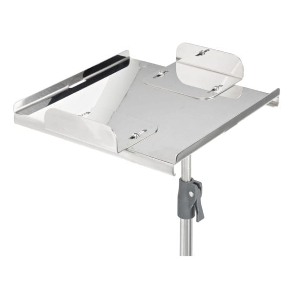 Stainless steel defibrillator shelf (Extra strength)