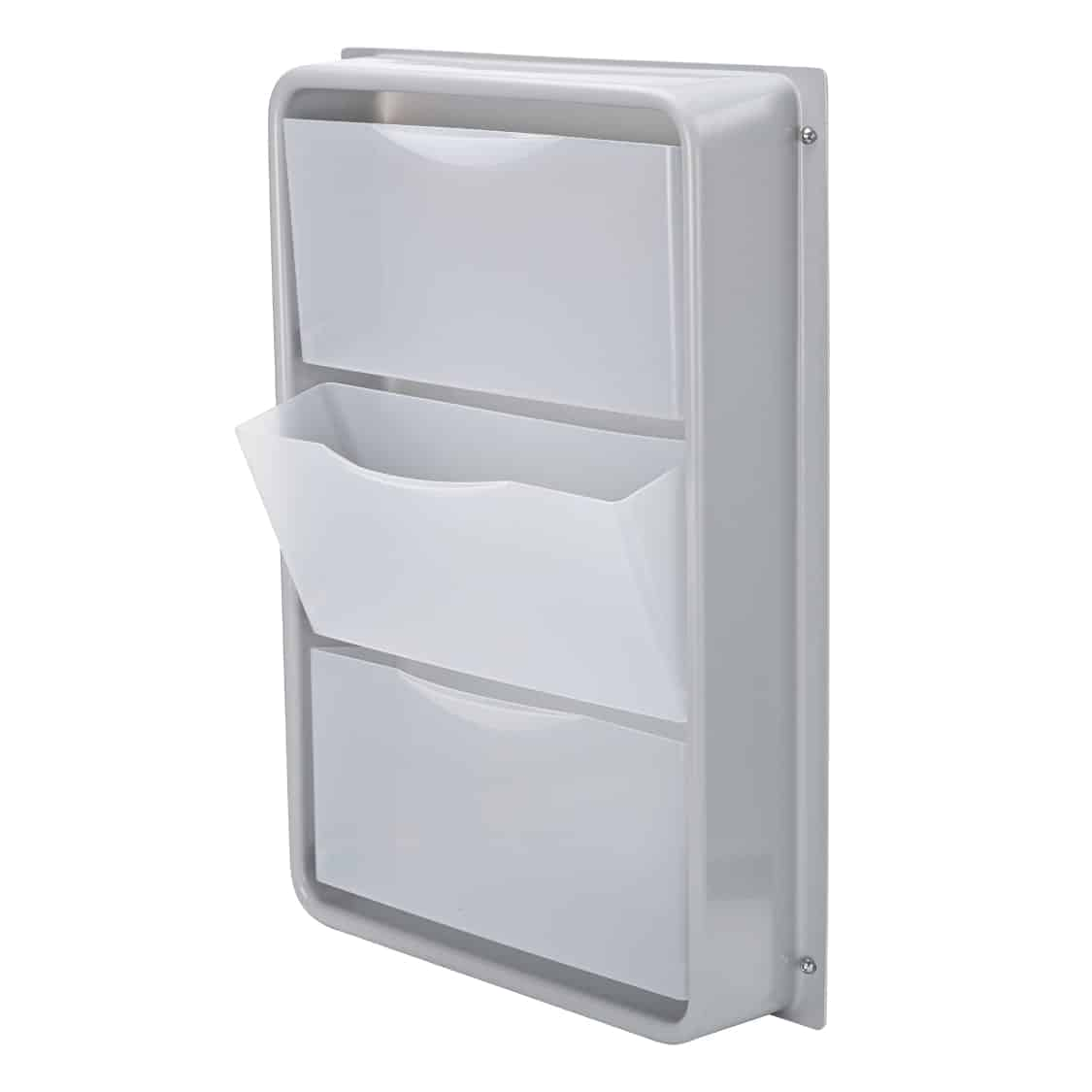 Foldaway side drawer unit