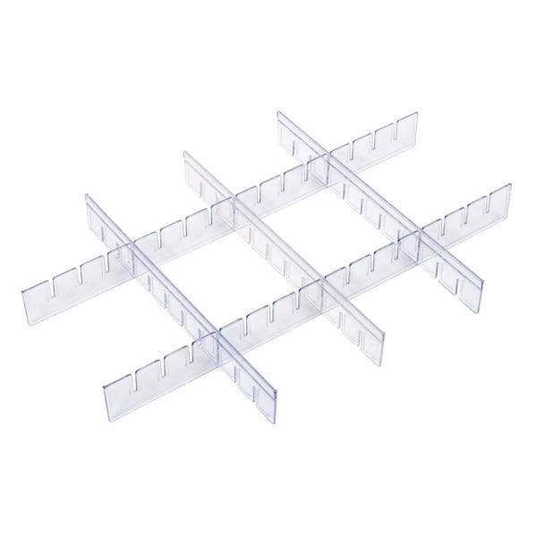 Straight divider set (for trays)