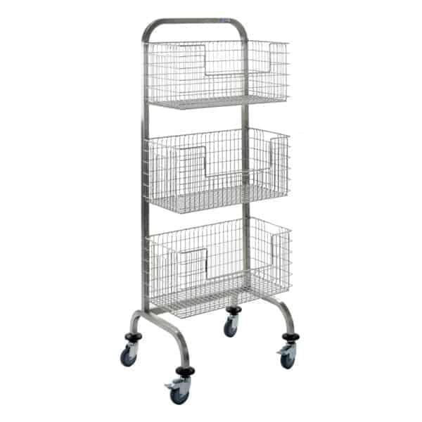 Single Sided Sterile Hook Cart