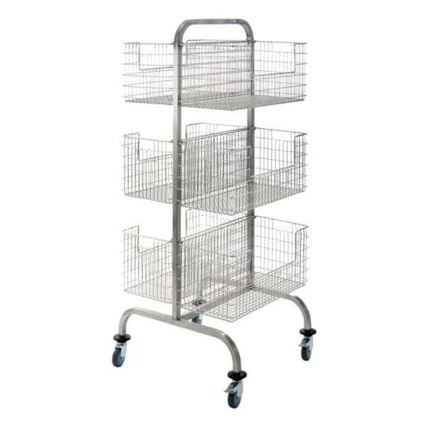 Double Sided Sterile Hook Cart