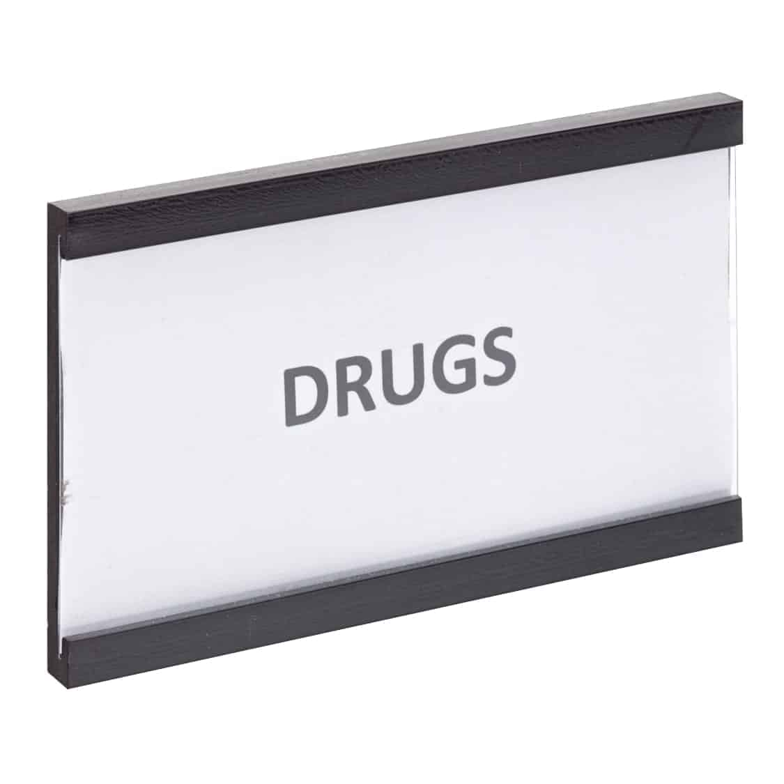 Magnetic label holders