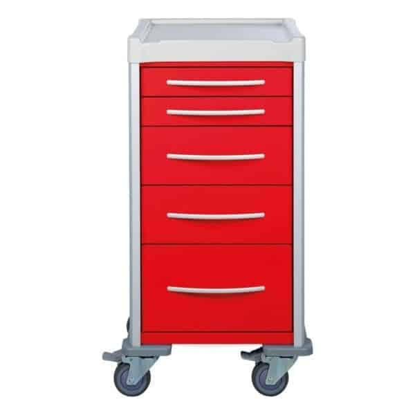 Narrow Resuscitation Trolley