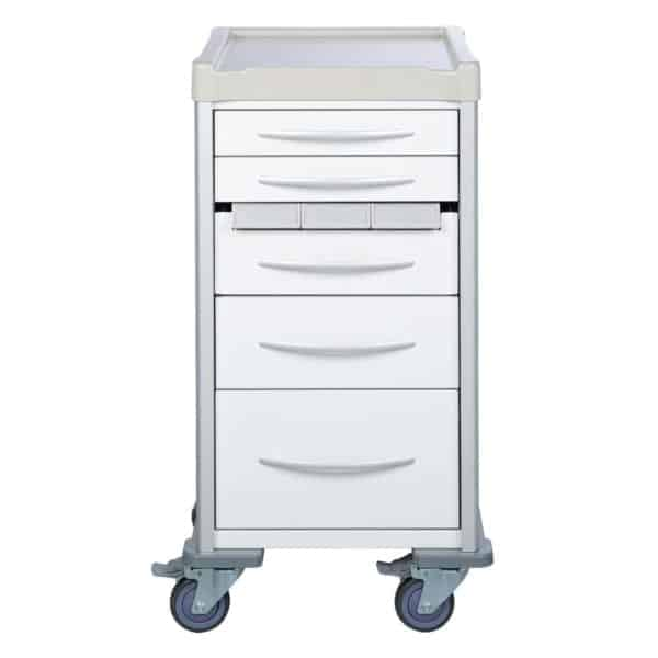 Narrow Medication Trolley