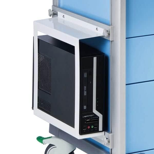 PC holder & 2 x side rails