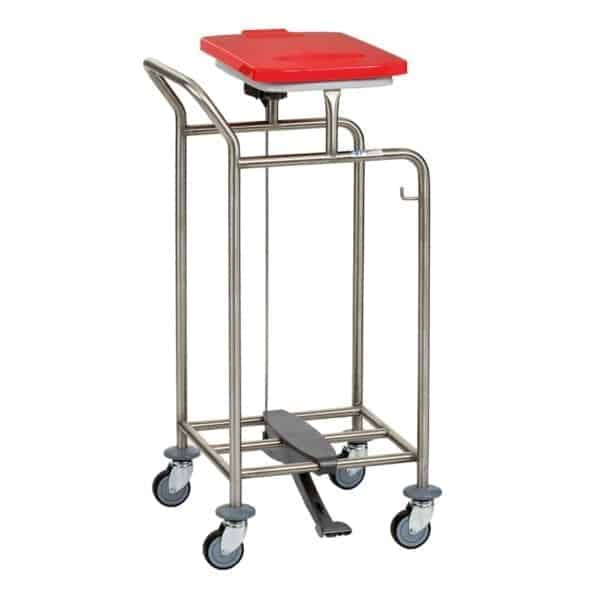 Soiled Linen Trolley with Handle