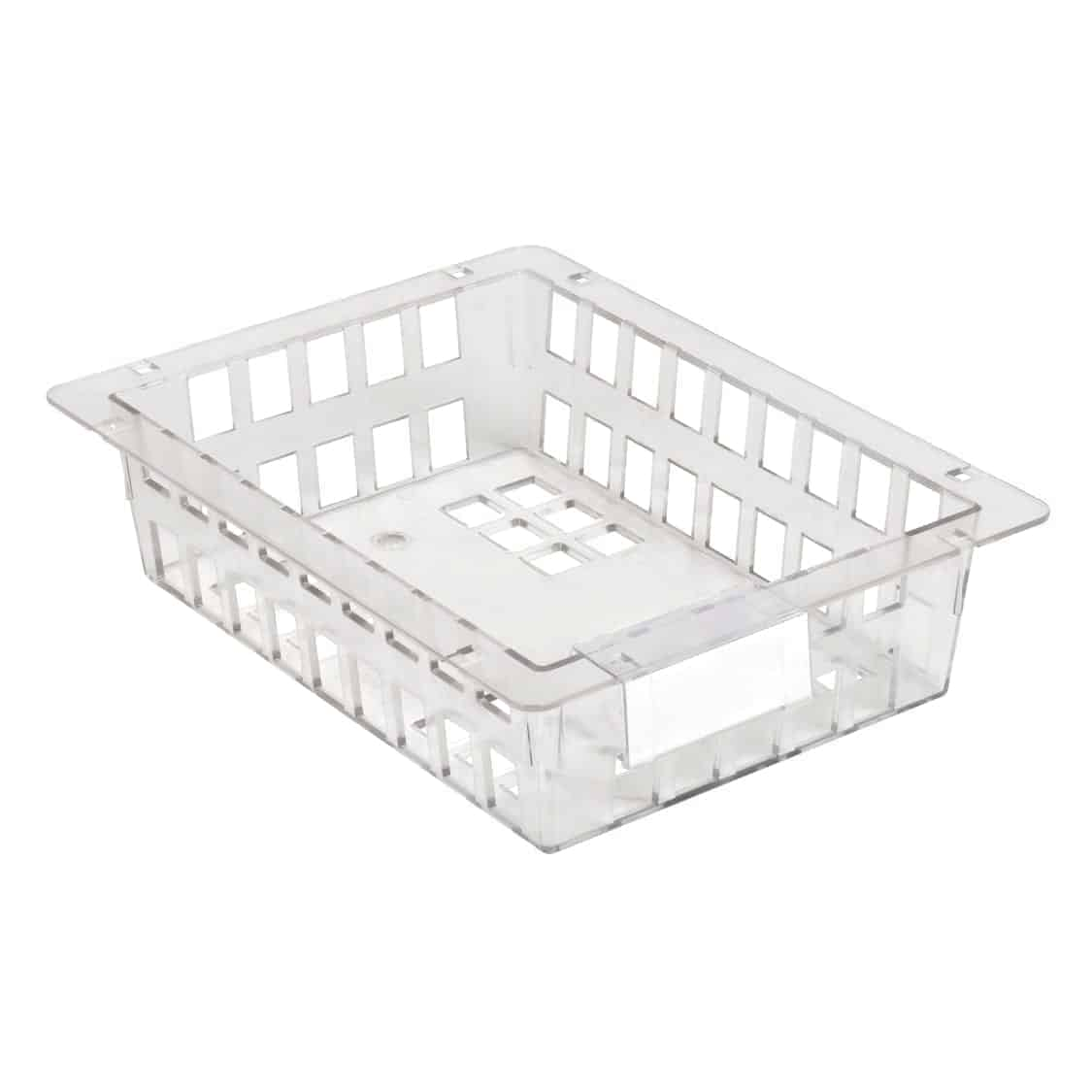 Clear small polycarbonate basket