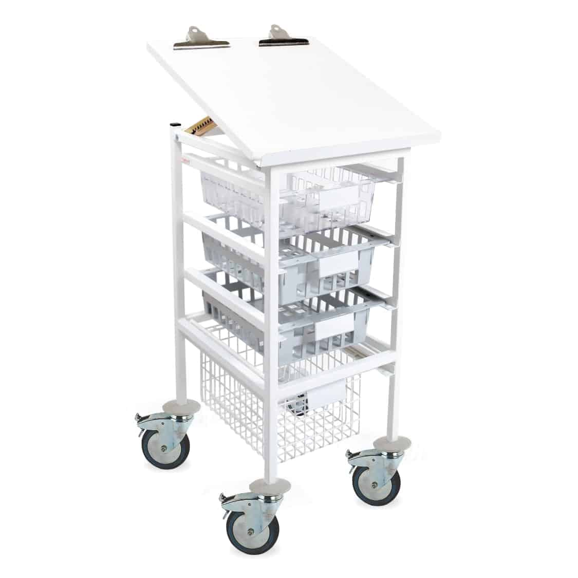 Half Section Chart Top Trolley - Type A