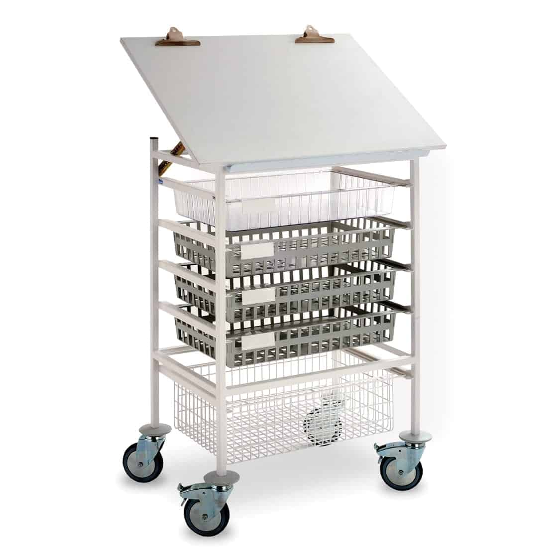 Open One Section Chart Top Trolley - Type A