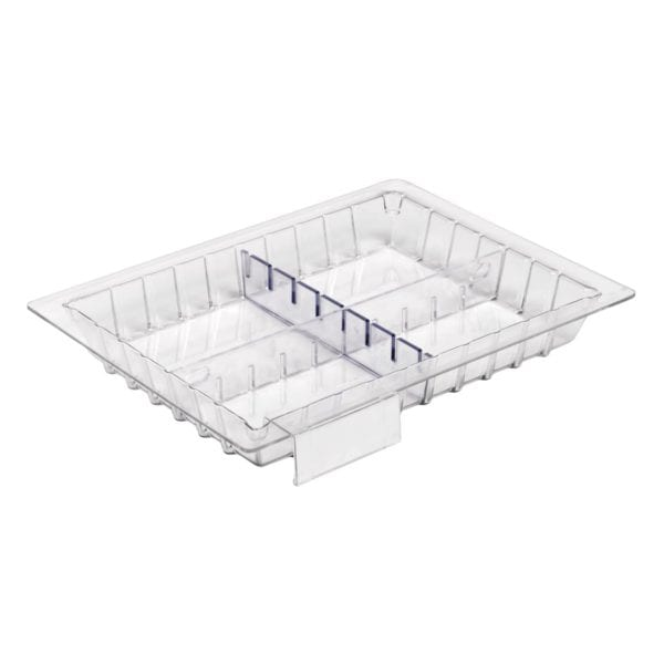 Small clear polycarbonate tray (Shallow)