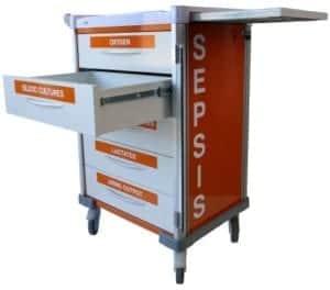 Agile Medical new Sepsis Trolley range