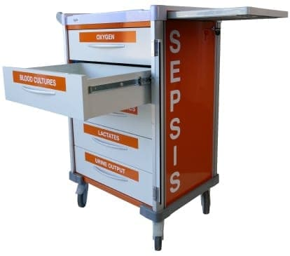 Agile Medical new Sepsis Trolley range