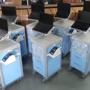 Agile Medical Phlebotomy Carts - Ready to Roll