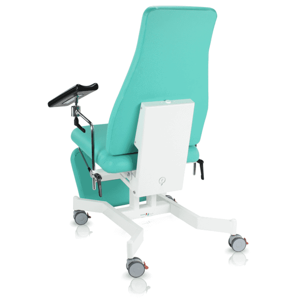 Agile Medical Phlebotomy Chair Rear View